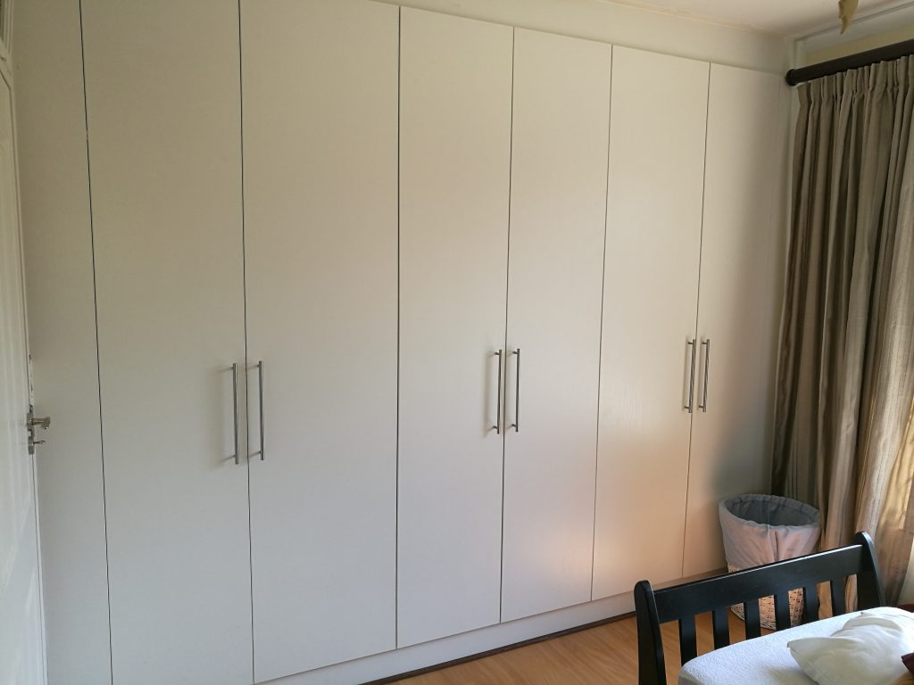 Melamine Impact doors in white alpine